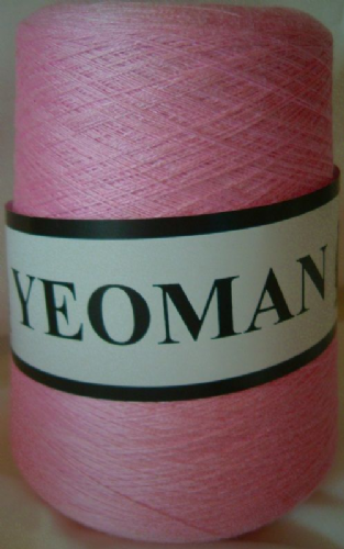 Yeoman Supersheen Acrylic Yarn Knitting Machine Pink